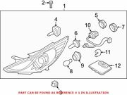Genuine Oem Front Right Headlight Assembly For Hyundai 921023q200