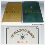 Rolex Vintage Watch Photobook Rolex For Your Collection 1905-1989