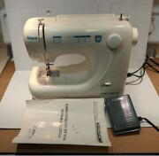 Shark Euro Pro X Sewing Machine Model 373 Tested Works