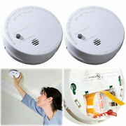 Kidde 2 Pack Smoke Detector Battery Operated Home Fire Alarm Safety Code One