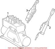 Genuine Oem Convertible Top Hydraulic Cylinder For Mercedes 208800017264