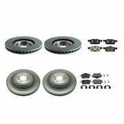 Genuine Front 375mm And Rear 345mm Brake Kit Disc Rotors Pads For Mercedes W166