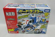 Tomica Hyper Blue Police Guard Runner Secondhand Minicar Sold At Thetime
