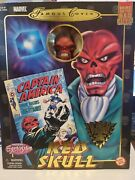The Red Skull 8-inch Action Figure Mint In Box 2001 Toy Biz Previews Exclusive