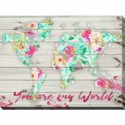 By Jodi You Are My World 2 Giclee Stretched Canvas Wall Extra Large