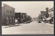 Second Street Hudson Wi Wisconsin Old Cars Stores Cafe Beer Drugs Much More St C