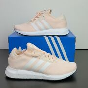 New Adidas Swift Run X Pink White Running Shoes Fy2136 Boost Womenand039s Us Size 7.5