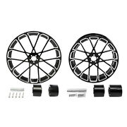 26 Front And 18and039and039 Rear Wheel Rim Hub Fit For Harley Touring Road King 2008-up Us