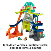 Fisher-price Little People Launch And Loop Raceway Free Ship Best Gift For Kid