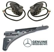 Custom Kit Front Gray Window Switchs And Convertible Top Cover Trim For Mercedes
