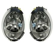 New Left And Right Genuine Halogen Headlights Pair Set For Mini Cooper R50 R52 R53