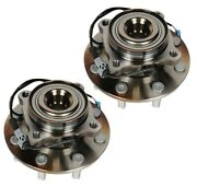 Pair Set 2 Rwd Front Wheel Bearing And Hubs Acdelco For Silverado Sierra 3500 Hd
