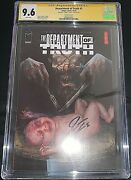 Department Of Truth2 Cgc Signature Series Signed By James Tynion 2 In Census