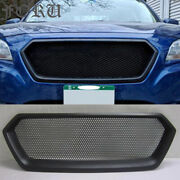 For Subaru Legacy Outback Grill Matte Black Hex Radiator Grille 2015 2016 2017