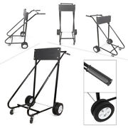 1 Pc 315 Lbs Outboard Boat Motor Stand Carrier Cart Dolly Storage Pro Heavy Duty