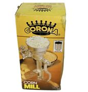 Genuine Corona® Manual Hand Mill Grinder For Grains, Corn, And Beans