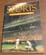 1954 Sports Illustrated First Issue August 16 1st Original Baseball Card Insert