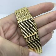 Supre Swiss Made Stainless Steel And Gold Plate Watch Women