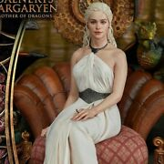 Blitzway 1/4 Scale Game Of Thrones Daenerys Targaryen Mother Of Dragons Statue