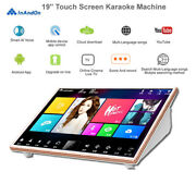 22'' Cloud Android Touch Screen Karaoke Player,4tb Hdd,chinese,english Songs