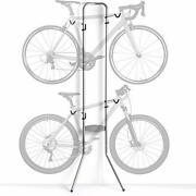 Delta Cycle And Home Michelangelo Two-bike Gravity Stand Silver 86\ X 23.5\ X