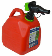 Scepter 2 Gallon Smartcontrol Gas Can Fr1g201 Red Portable Fuel Container