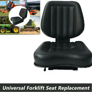 Universal Lawn Mower Tractor Replacement Seat For Atv Forklift Truck Excavator