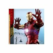 Id Star Iron Man Mark 3 1/4 Size Qs012 Hot Toy Genuine Products Statue Figure
