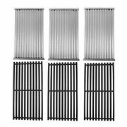 Cast Iron Cooking Grates And Infrared Emitter Replacement For Charbroil Infrared