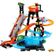 Hot Wheels Ultimate Gator Car Wash Play Set With Color Shifters Car Best Gift