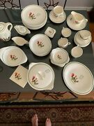 Steubenville China Complete Set Of 40- Serving For 8 Missing Only 1 Cup.andnbsp