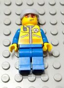 Lego City Town Coast Guard Helicopter Rescue Swimmer Minifigure