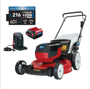 Toro 20367 Recycler 21 60v Lithium-ion Push Lawn Mower, 4.0 Ah Battery/charger