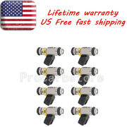 8x Iwp069 Iwp-069 Fuel Injectors 861260t For Sterndrive 1999-2002 454 Mag Mpi Us