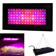 Hqrp 270w High-power Garden Hydroponic Plant Grow Light Panel With Hanging Kit