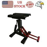 300lb Adjustable Lift Jack Lift Stand Repairing Table For Motorcycle Us