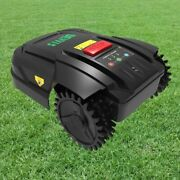 Robot Lawn Mower Generation For Small Lawn Updated With Battery Wifi Schedule