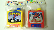 Amazing Spider-man Cantoons 17 Oz Canteens Lot Of 2 Mint In Package 1990 Vintage