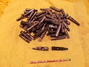 57 Pc Box Lot Of 2 Morse Taper Drill And Tap Drivers Straight Shank Made In Usa