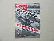Trains 8th Annual All-diesel Issue - Kalmbach Publishing, December, 1969