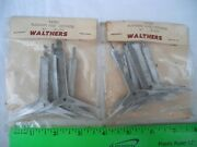 Lot Of 2 Walthers C1053 Platform Roof Supports, Metal, O27 O-27 O Gauge O Scale