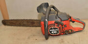 Vintage Homelite 410 Chainsaw Adirondack Logging Camp Collectible Big Early Saw