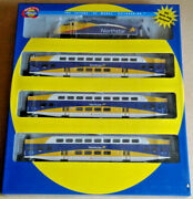 Ho Athearn Northstar Commuter Train Set F59phi 504 And 3 Bombardier Coaches 25993
