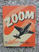 Zoom Wwii Ww2 Airplane Card Game 1941 Whitman W/ Box And Instructions - Complete