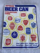 Vtg 1975 Beer Can Collectors Guide Universal