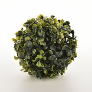 New Artificial 12cm Boxwood Buxus Topiary Balls Grass Plant Chain Hanging Ex