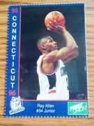 1995-96 Uconn University Of Connecticut First Union Sga Nno You Pick Player