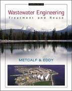 Wastewater Engineering Treatment And Reuse By Stensel H. David Paperback Book