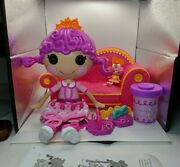 Lalaloopsy Glitter Hair Dough Doll With Mini Lalaloosy And Couch