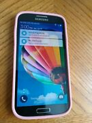 Samsung Galaxy S4 16gb Verizon Smartphone With Pink/yellow Speck Cover